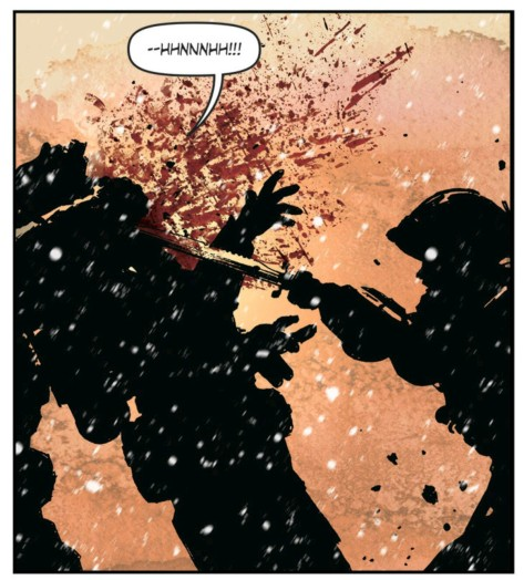 From Lazarus #20 by Michael Lark &