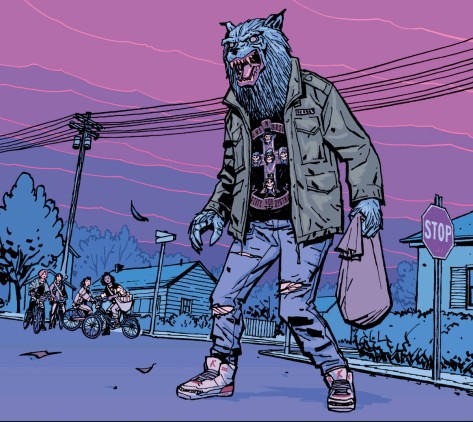 From Paper Girls #2 by Cliff Chiang & Matt Wilson