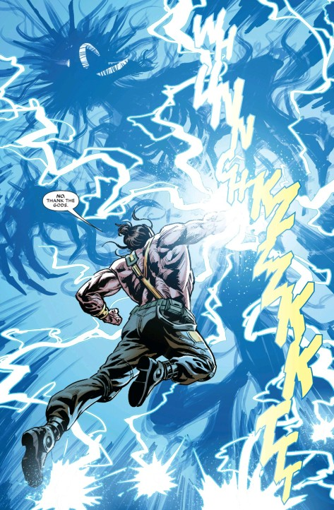 From Hercules #1 by Luke Ross & Guru FX