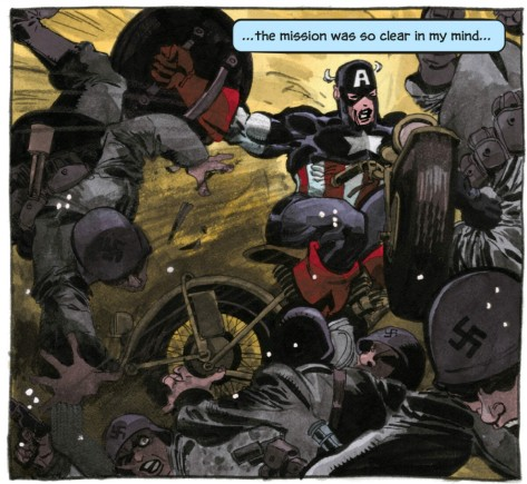 From Captain America White #4 by Tim Sale & Dave Stewart