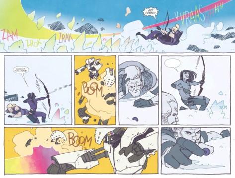 From All New Hawkeye #1 by Ramon Perez & Iran Herring