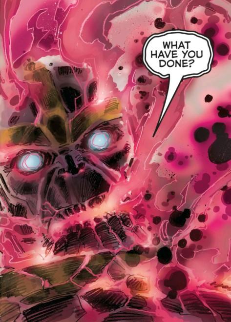 From The Infinity Gauntlet #5 by Dustin Weaver & Ryan Beredo