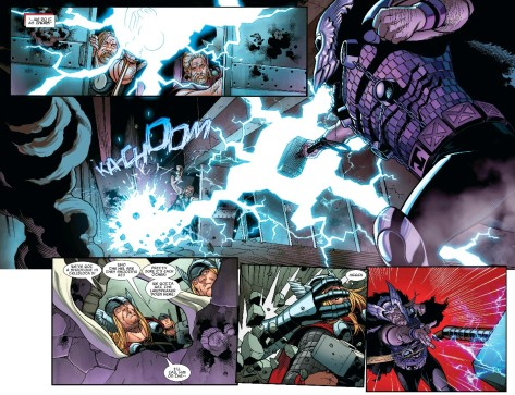 From Thors #4 by Chris Sprouse & Israel Silva