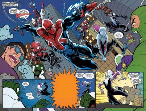 From Web Warriors #1 by David Baldeon & Jason Kieth