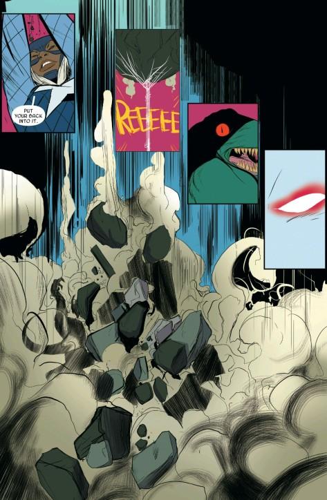 From Radioactive Spider-Gwen #2 by Robbie Rodriguez & Rico Renzi