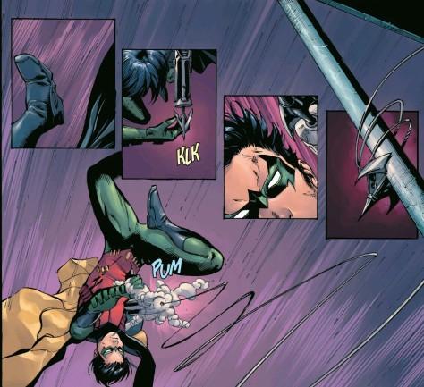 From Batman & Robin Eternal #6 by Tony Daniel & Sandu Florea