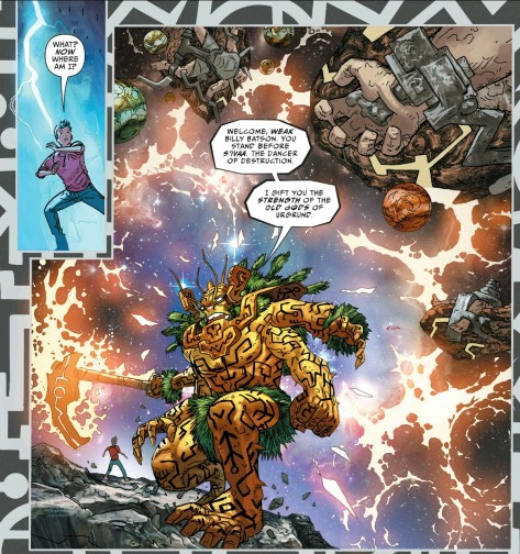 From Justice League The Darksied War: Shazam #1 by Scott Kollins & Romulo Fajardo Jr