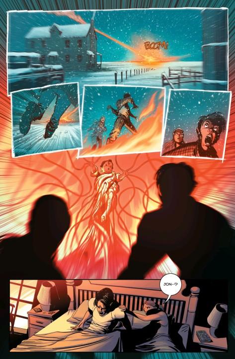 From Superman: American Alien #1 by Nick Dragotta & Alex Guimareas