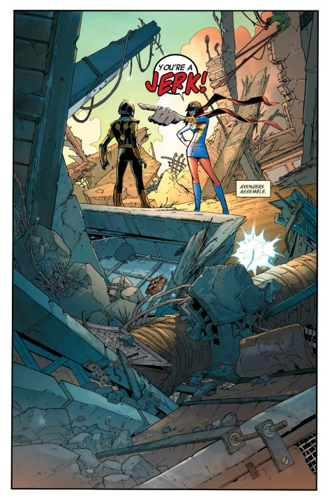 From All New, All Different Avengers #1 by Mahmud Asrar & Dave McCraig