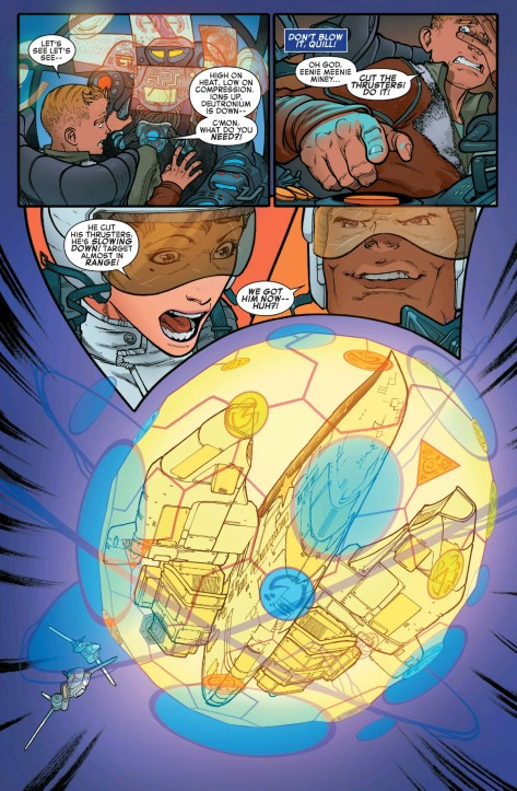 From The Legendary Star-Lord #1 by Javier Garron & Antonia Fabella