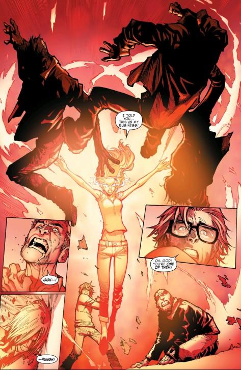 From Extraordinary X-Men #2 by Humberto Ramos & Edgar Delgado