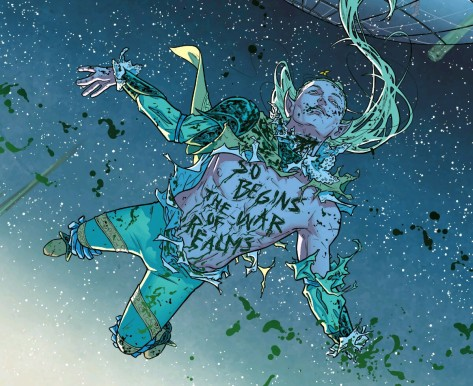 From The Mighty Thor #1 bt Russell Dauterman & Mathew Wilson