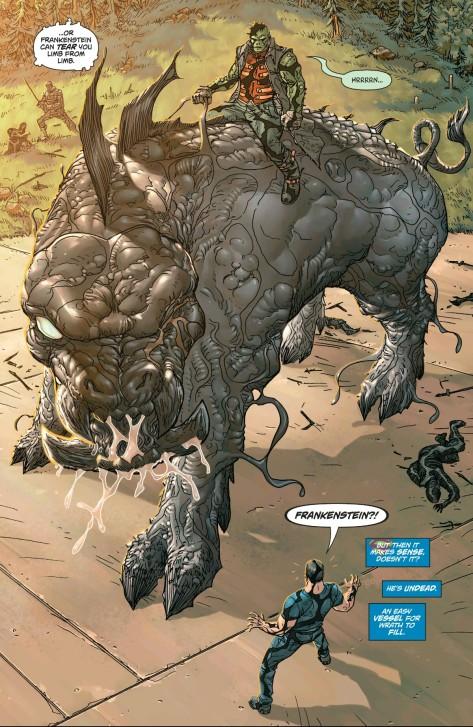 From Action Comics #46 by Skott Kollins & Tomeu Morey