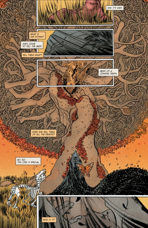 From Pretty Deadly #6 by Emma Rios & Jordie Bellaire