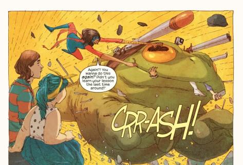 From Ms Marvel #1 by Adrian Alphona & Ian Herring