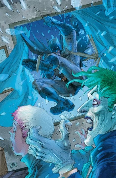 From Batman Europa #1 by Giuseppe Comuncoli, Jim Lee & Alex Sinclair