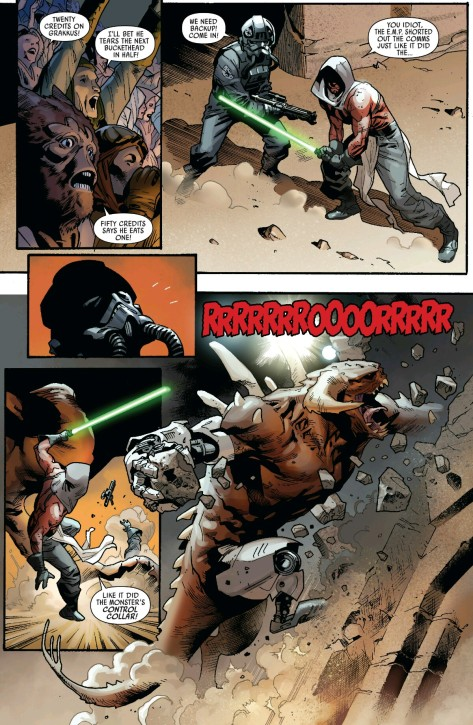 From Star Wars #12 by Stuart Immonem & Justin Posnor