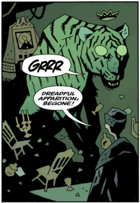 From Dark Horse Presents 3 #16 by Mike Mignola & Dave Stewart