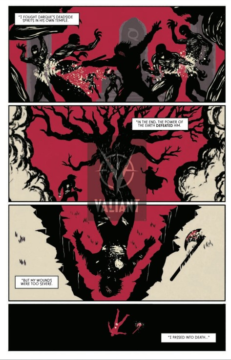 From Wrath Of The Eternal Warrior #1 by Raul Allen, Patricia Martin, David Astruga & Borja Pindado
