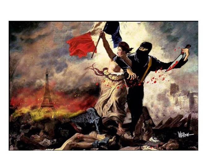 The Cartoon Response to the Paris Attacks