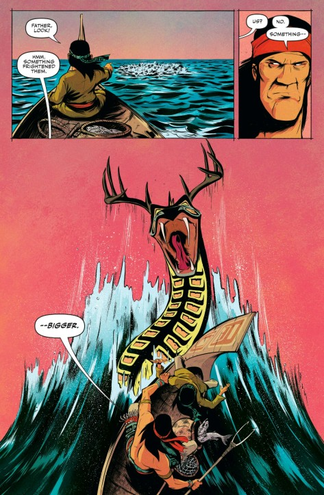 From Jim Henson's The Story Teller: Dragons #1 by Daniel Bayliss
