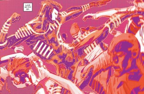 From Daredevil #1 by Ron Garney & Matt Millia