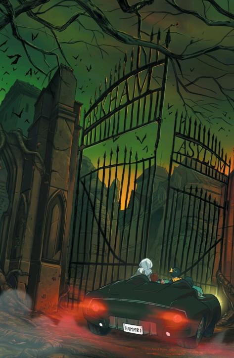 From Gotham Academy #12 by Karl Kerschel, Serge Lapointe & MSASSYK