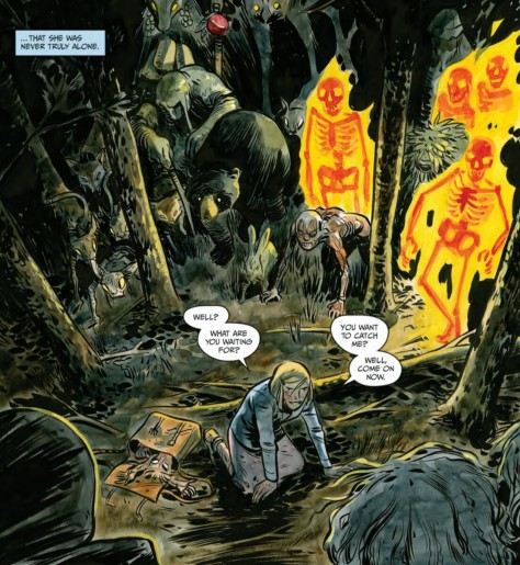 From Harrow County #8 by Tyler Crook