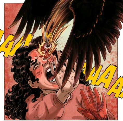 From No Mercy #5 by Carla Speed McNeil & Jenn Manely Lee