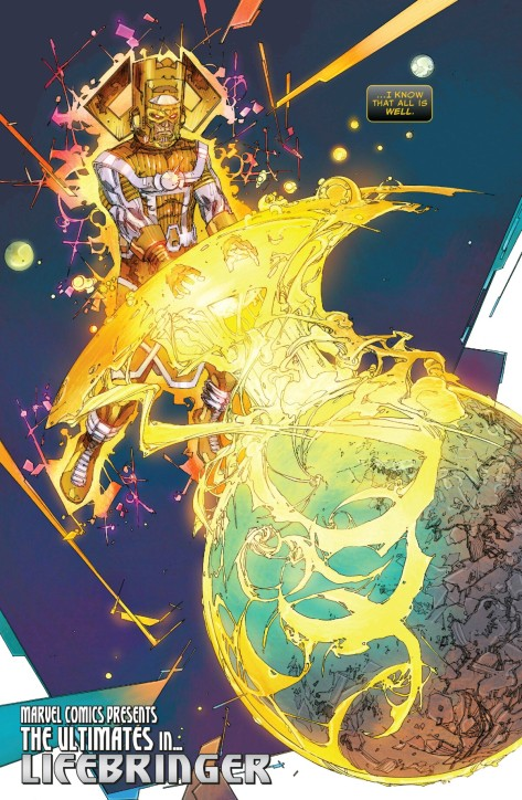 From The Ultimates #2 by Kenneth Rocafort & Dan Brown