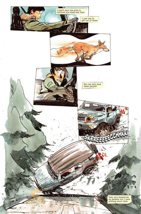 From Snow Blind #2 by Tyler Jenkins
