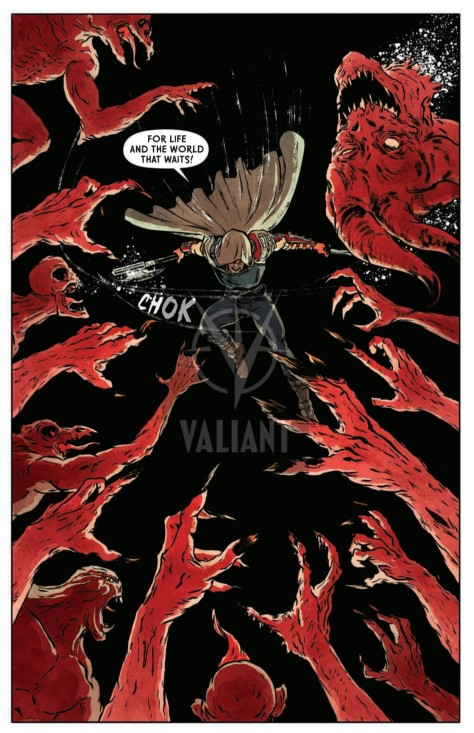 From Wrath Of The Eternal Warrior #2 by Raul Allen, Patricia Martin, David Astruga & Bora Pindado