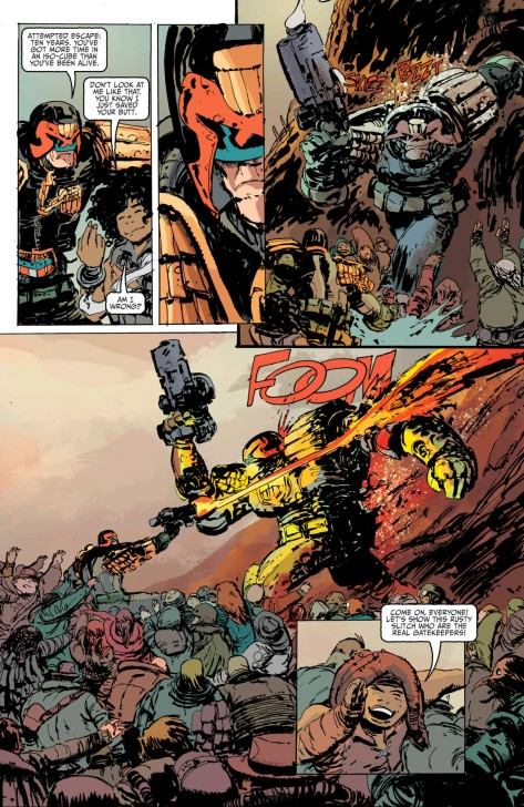 From Judge Dredd #1 by Dan McCaid & Ryan Hill