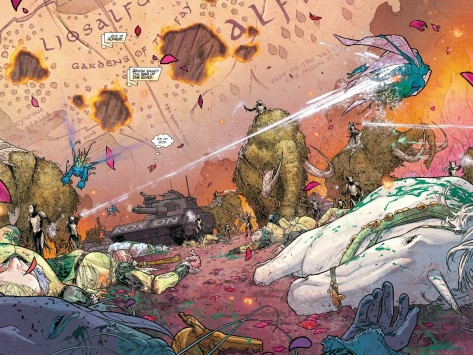 From The Mighty Thor #2 by Russell Dauterman & Mathew Wilson