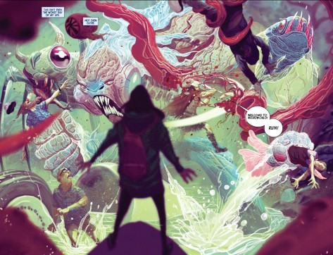 From Weirdworld #1 by Mike Del Mundo