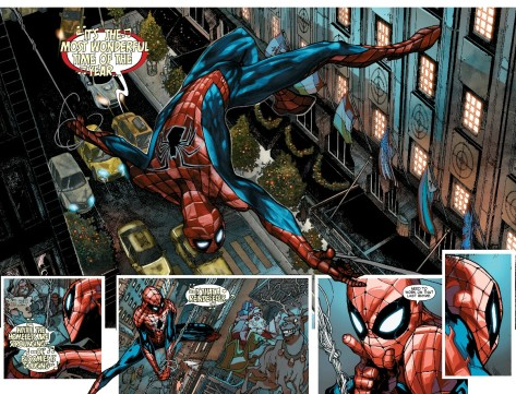 The Amazing Spiderman 1.1 by Simone Bianchi& Isreal Silva