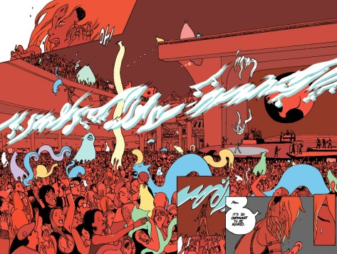 From The Wicked + The Divine #17 by Brandon Graham