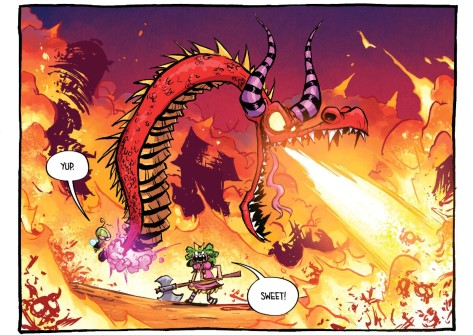 From I Hate Fairyland #3 by Skottie Young & Jean Francious Beaulieu