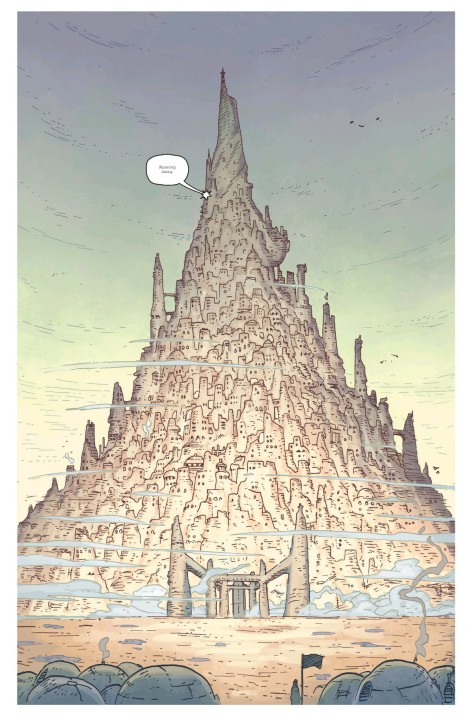 From The Spire #5 by Jeff Stockely & Andre May