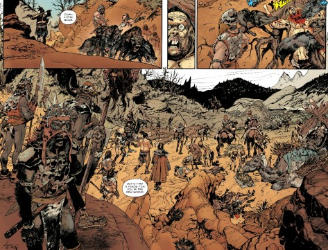 From The Goddammed #2 by RM Guera & Gulia Brusco