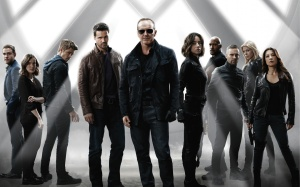 Agents of SHIELD group shot