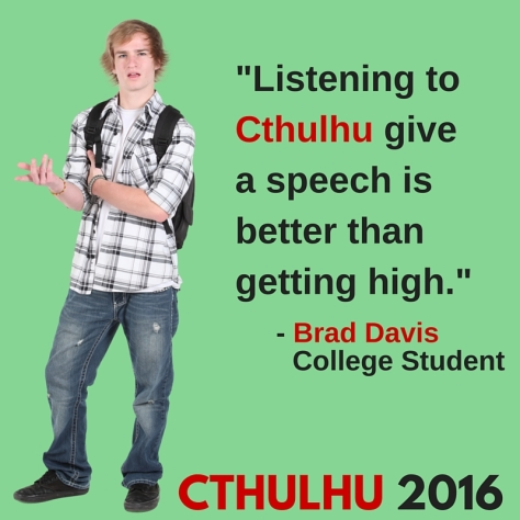 Cthulhu Ad College Guy