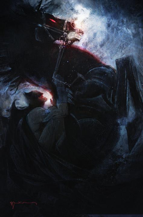 Dark Knight III The Master Race 1 Bill Sienkiewicz