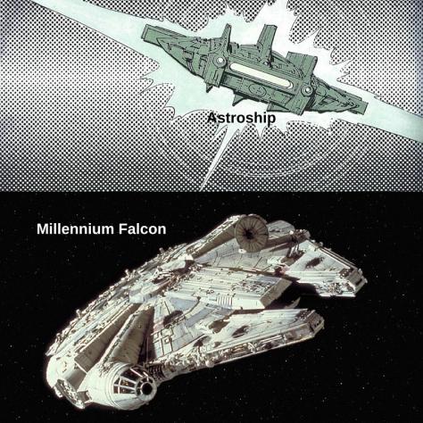 Millennium Falcon Astroship