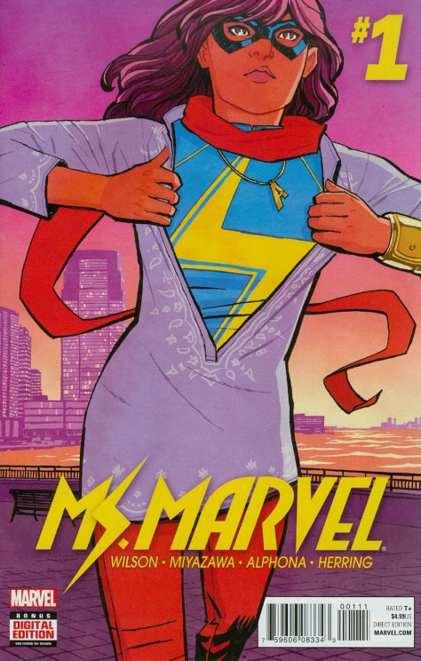 Ms Marvel 1 Cliff Chiang