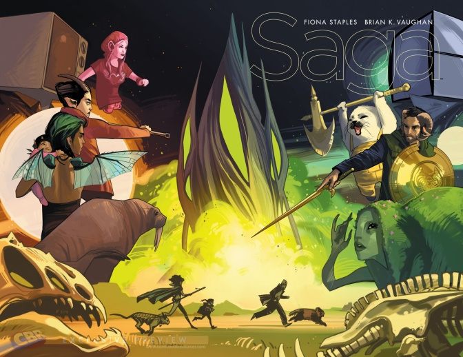 This Year's Finest 2015: Saga Teaches Family First