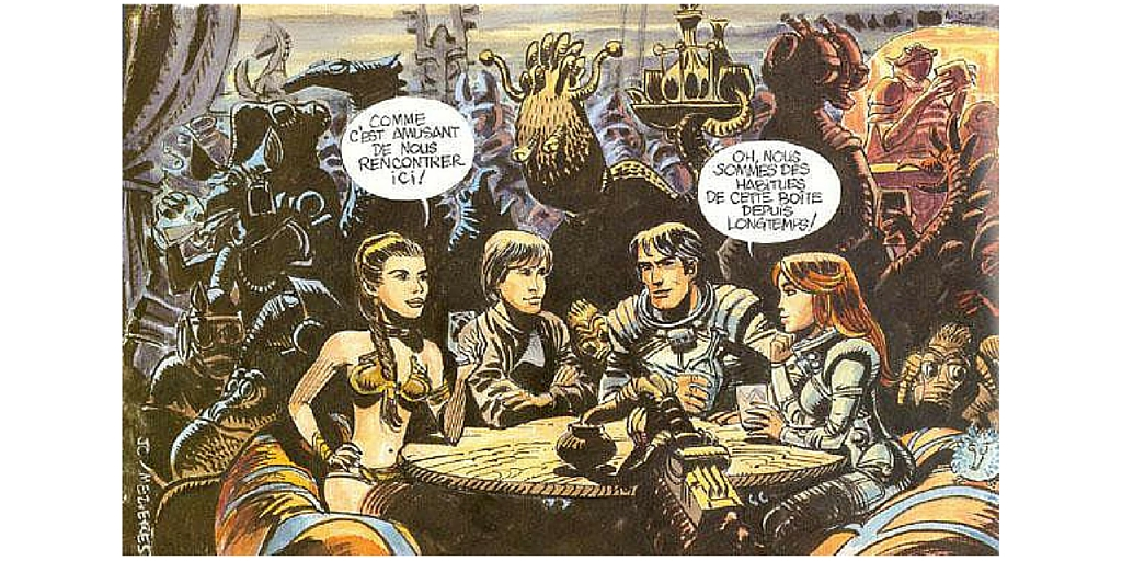 Was STAR WARS influenced by a French science fiction comic ...
