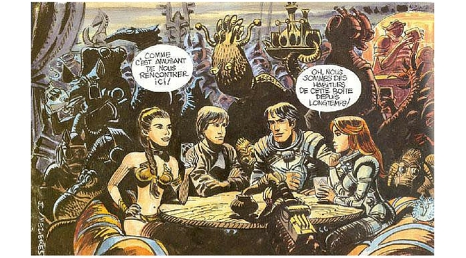 Was STAR WARS influenced by a French science fiction comic?