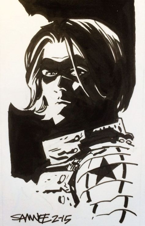 Winter Soldier Chris Samnee