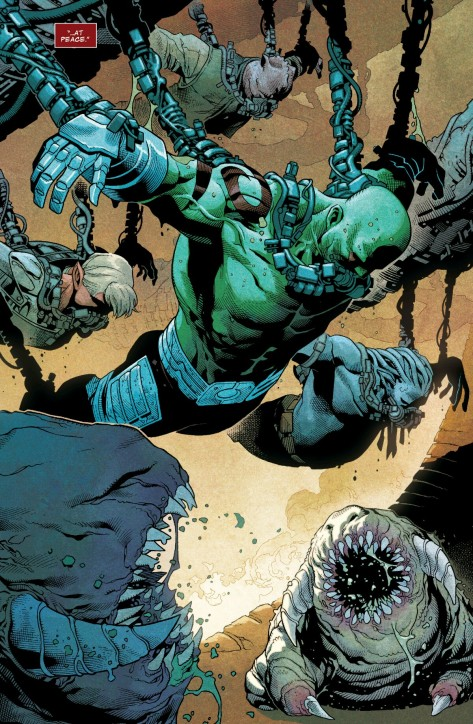From Guardians Of Infinity #2 by Jim Cheung, Walden Wong, Guilermo Ortega & Matthew Wilson